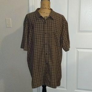 Quicksilver collared button down shirt